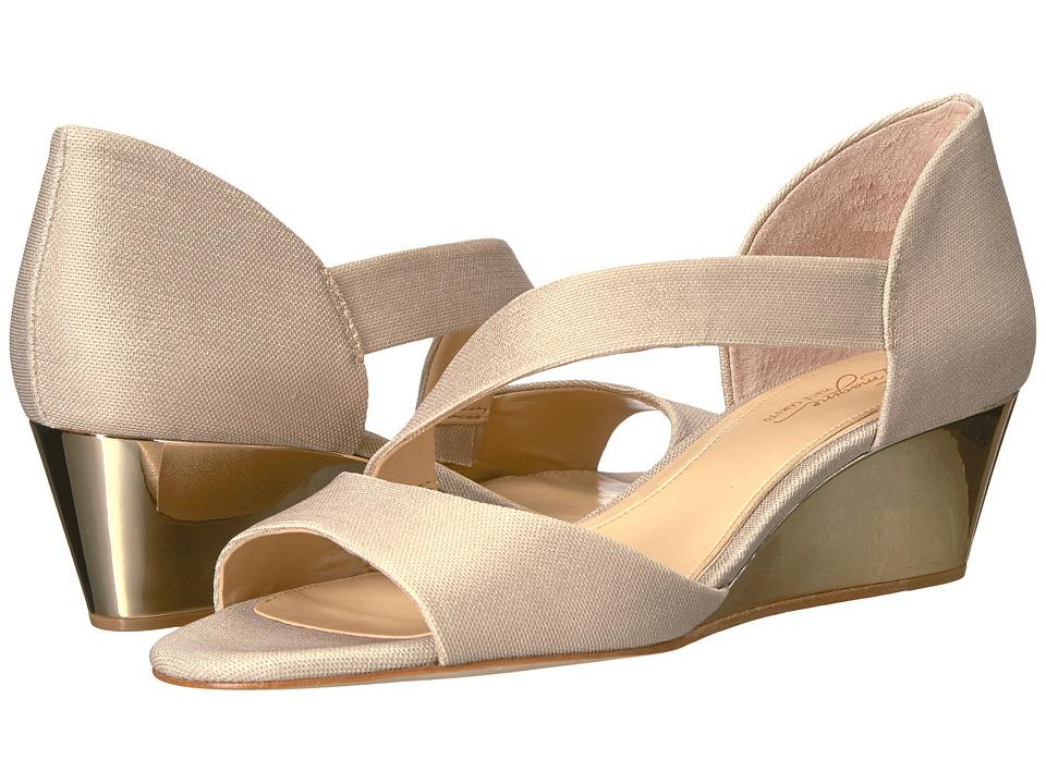 Imagine Vince Camuto Jefre (Soft Gold Metallic Shimmer Fabric) Women