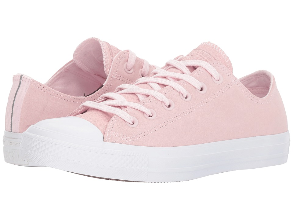 Converse Chuck Taylor(r) All Star(r) Plush Suede Ox (Arctic Pink/Arctic Pink/White) Women