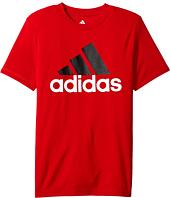 adidas Kids - CLIMA Performance Logo Tee (Big Kids)