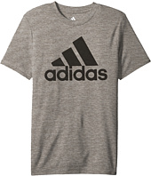 adidas Kids - Melange Performance Tee (Big Kids)