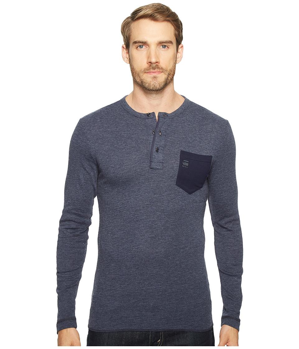 G-Star - Classic Granddad Pocket R T Long Sleeve