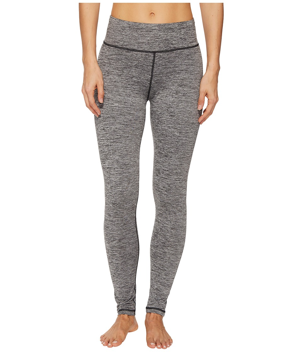 adidas Performer High-Rise Brushed Cozy Tights (Black Heather) Women