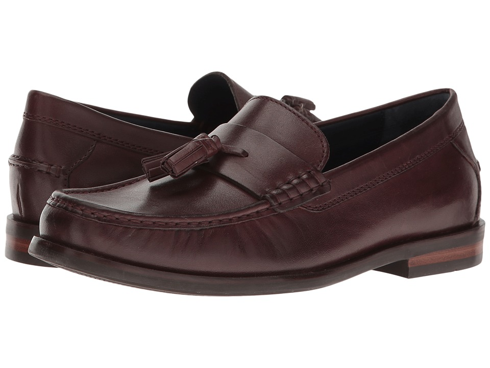 Cole Haan Pinch Friday Tassel Contemporary (Cordovan Handstain) Men