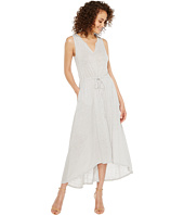 HEATHER - Grace Linen Grecian Maxi Dress