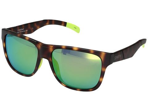Smith Optics Lowdown - Matte Tortoise Neon/Chromapop Sun Green Mirror Lens
