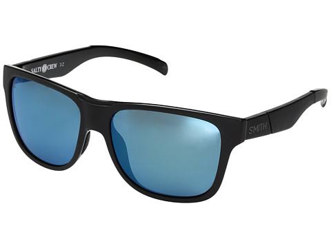 Smith Optics Lowdown XL - Matte Black Salty Crew/ChromaPop Polarized Blue Mirror Lens