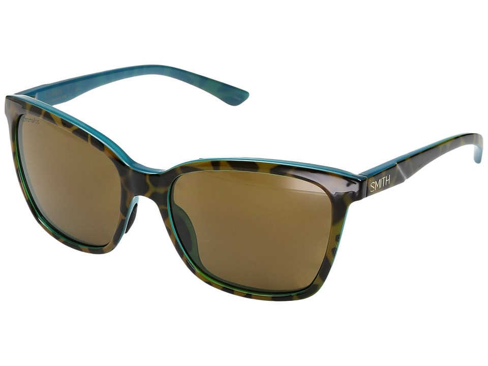 Smith Optics - Colette (Tortoise Marine/Chromapop Polarized Brown Lens) Fashion Sunglasses