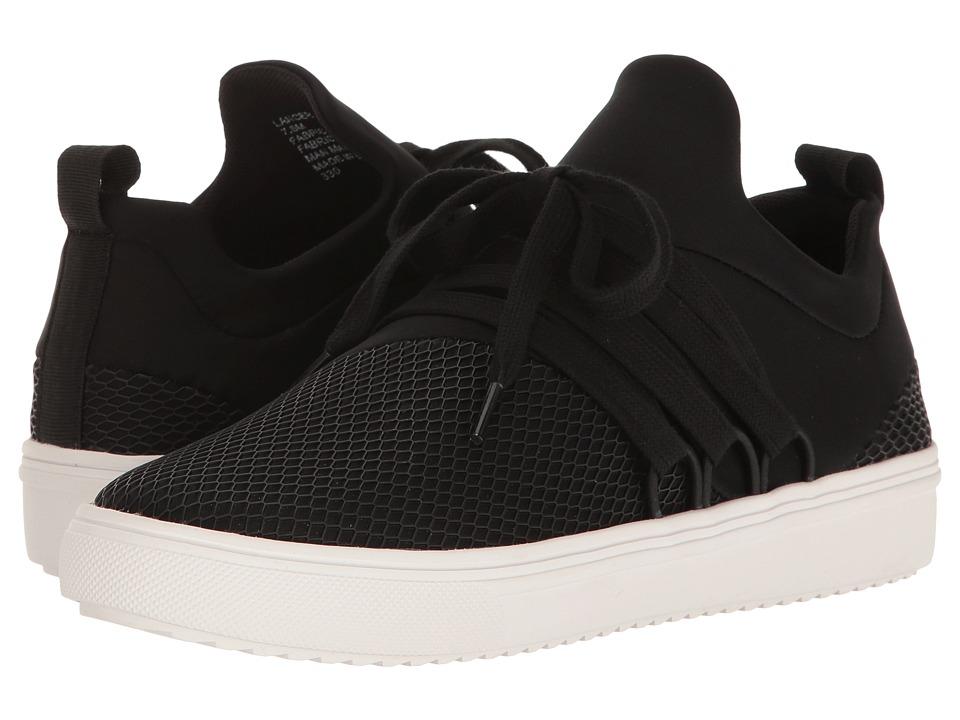 Steve Madden Lancer Sneaker (Black) Women's Shoes