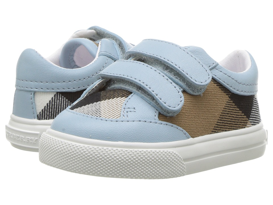 Burberry Kids - Heacham (Infant/Toddler) (Mineral Blue) Kids Shoes