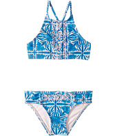 Roxy Kids - Sunny Dreams Teenie Wahine Crop Top Set (Toddler/Little Kids)