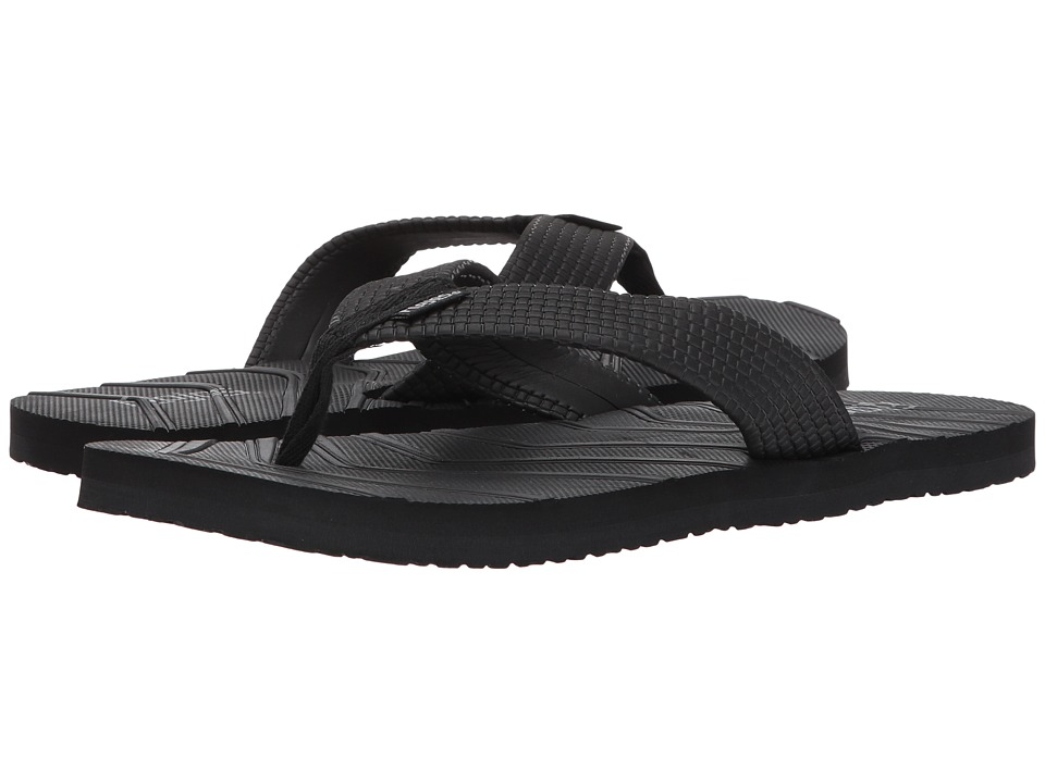Flojos - Liam (Black) Men's Sandals