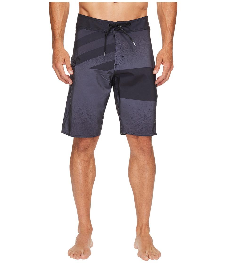 Volcom Lido Block Mod 21 Boardshorts (Asphalt Black) Men