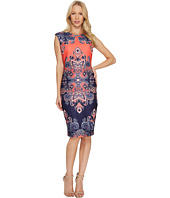 Vince Camuto - Printed Ponte Bodycon Dress