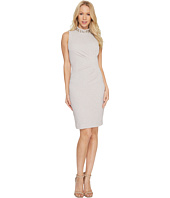 Vince Camuto - Sleeveless Mock Neck Sheath Dress