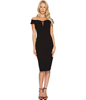 Vince Camuto - Off the Shoulder Dress w/ Mesh Insert