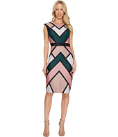 Vince Camuto - Printed Scuba Bodycon Dress