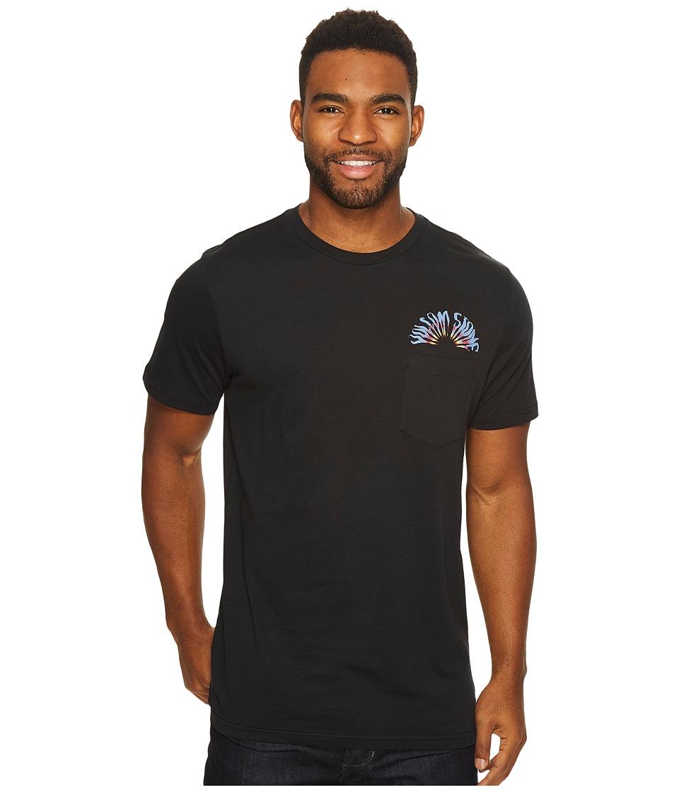 Volcom Doom Bloom Short Sleeve Pocket (Black) Men