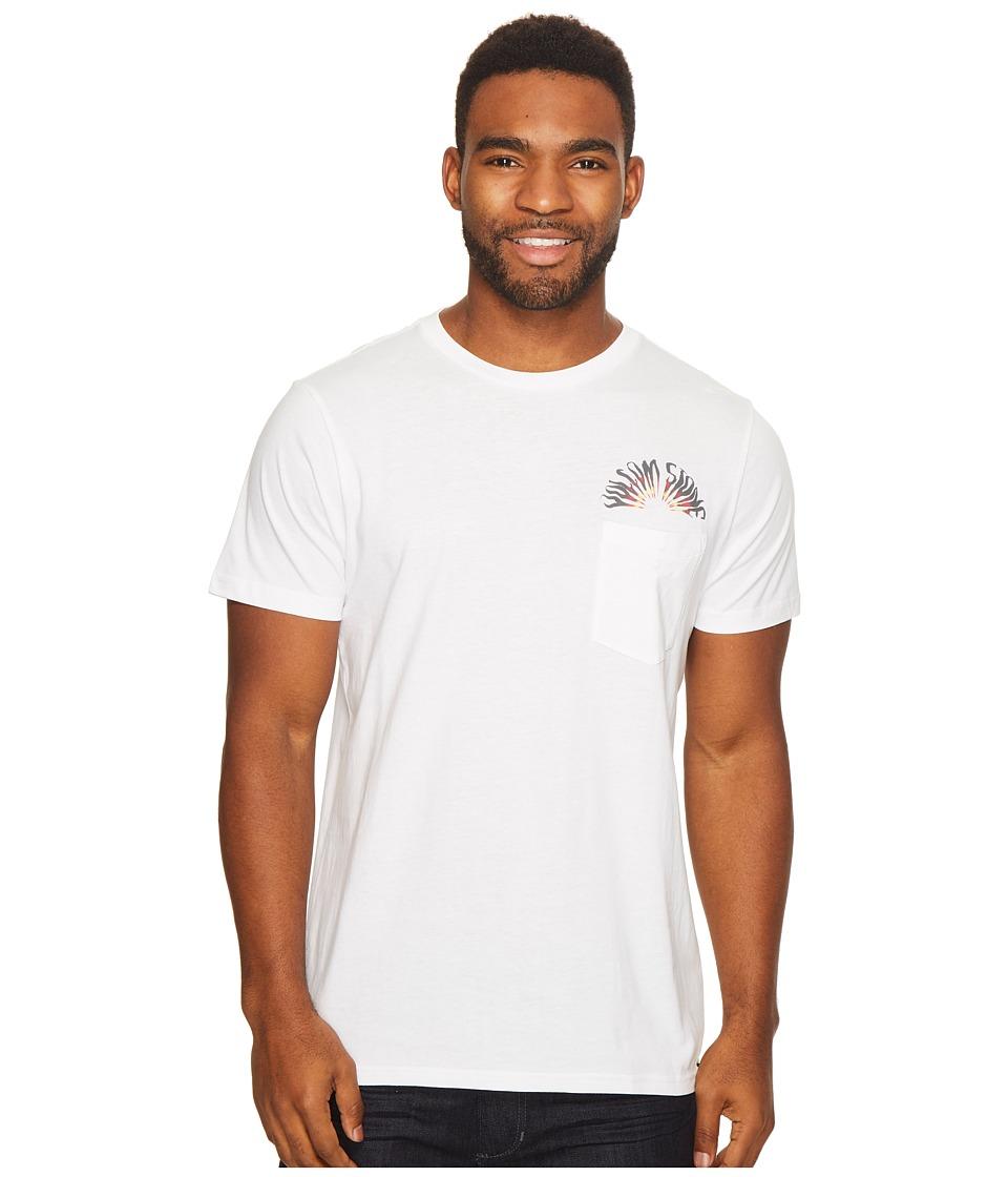 Volcom Doom Bloom Short Sleeve Pocket (White) Men