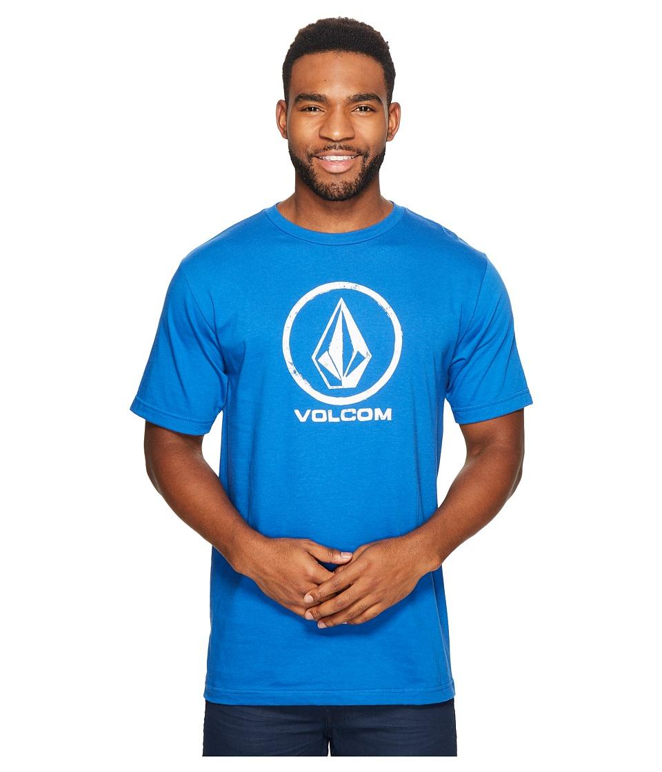 Volcom Lino Stone T-Shirt (True Blue) Men