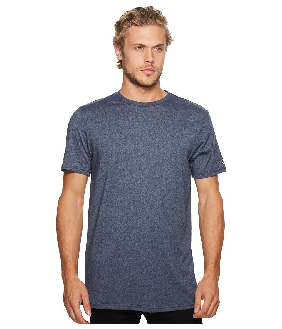 Volcom Heather Solid T-Shirt (Indigo) Men