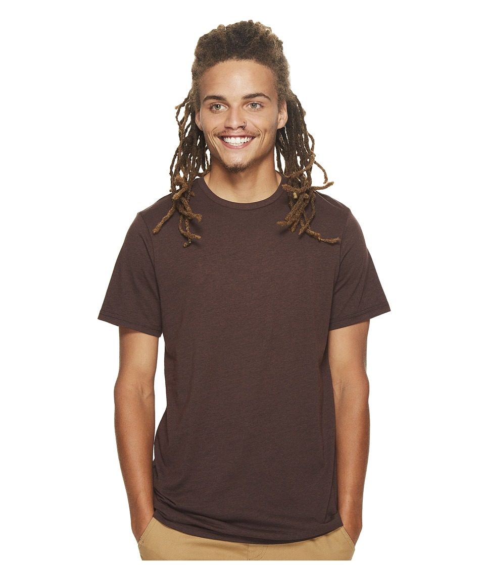 Volcom Heather Solid T-Shirt (Plum Heather) Men