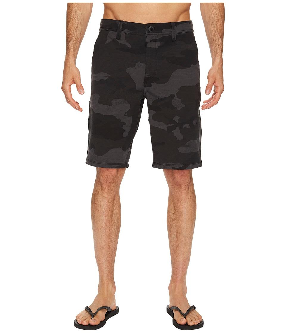 Volcom SNT Frickin Mix 21 Shorts (Black) Men