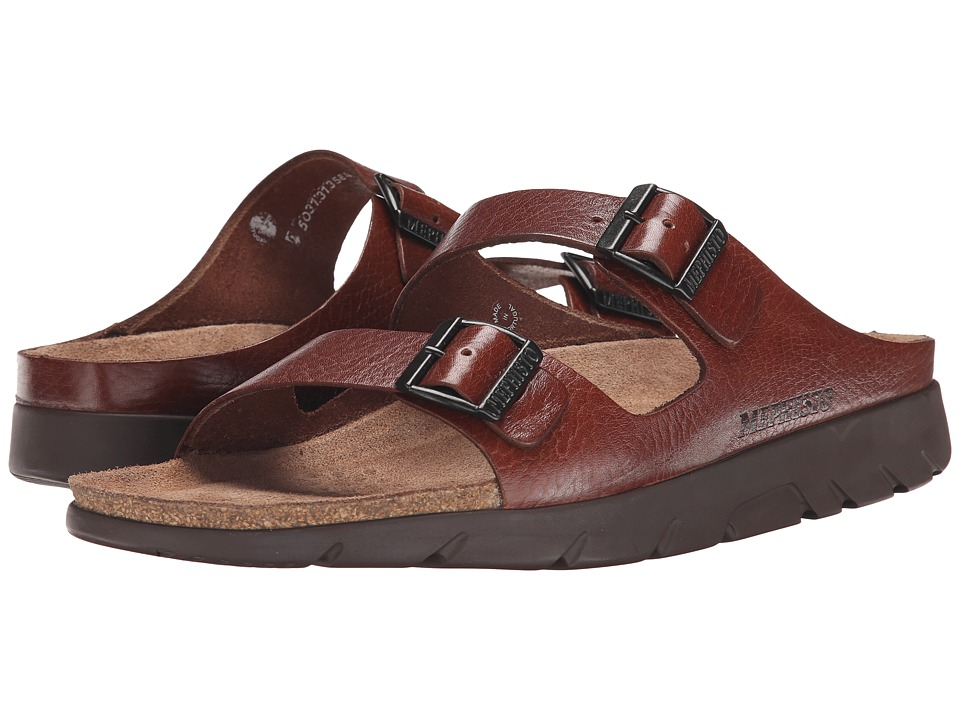 Mephisto - Zonder (Tan Full Grain Leather) Mens Sandals