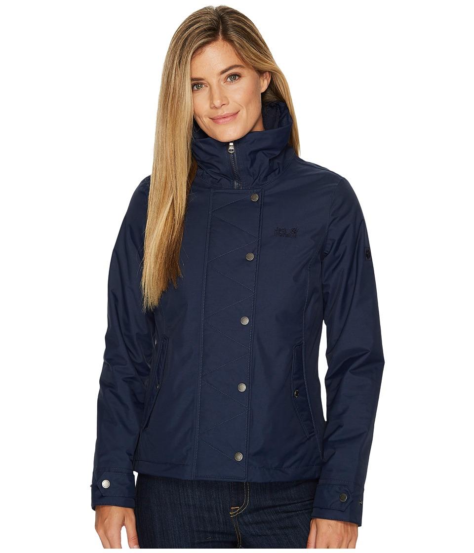 Jack Wolfskin Dorset Jacket (Midnight Blue) Women