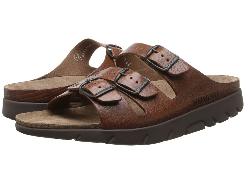 Mephisto - Zach (Tan Full Grain Leather) Mens Sandals