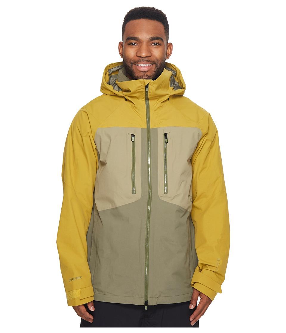 Burton ak] 2L Swash Jacket (Amber Green/Dusty Olive/Rucks...