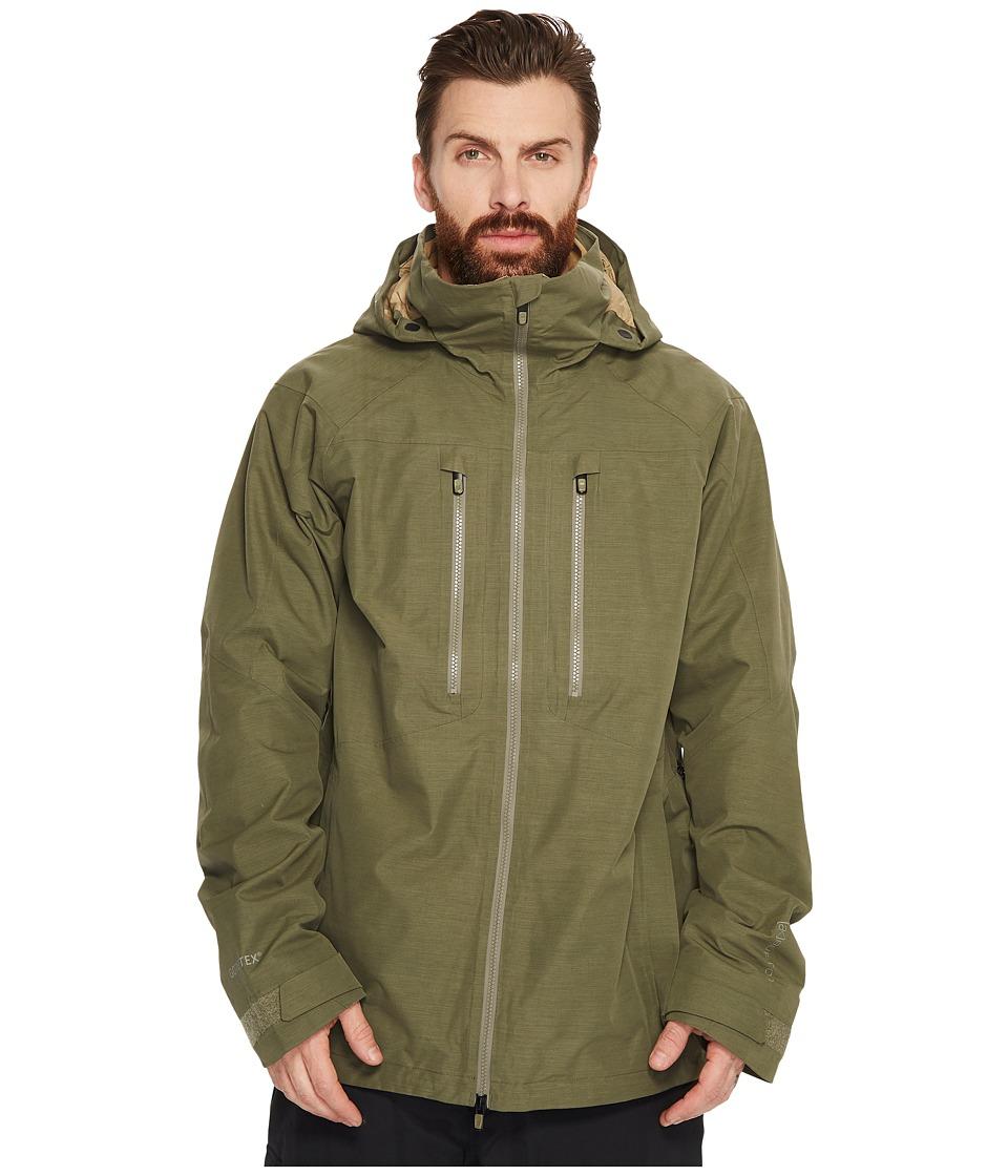 Burton ak] 2L Swash Jacket (Dusty Olive) Men's Coat