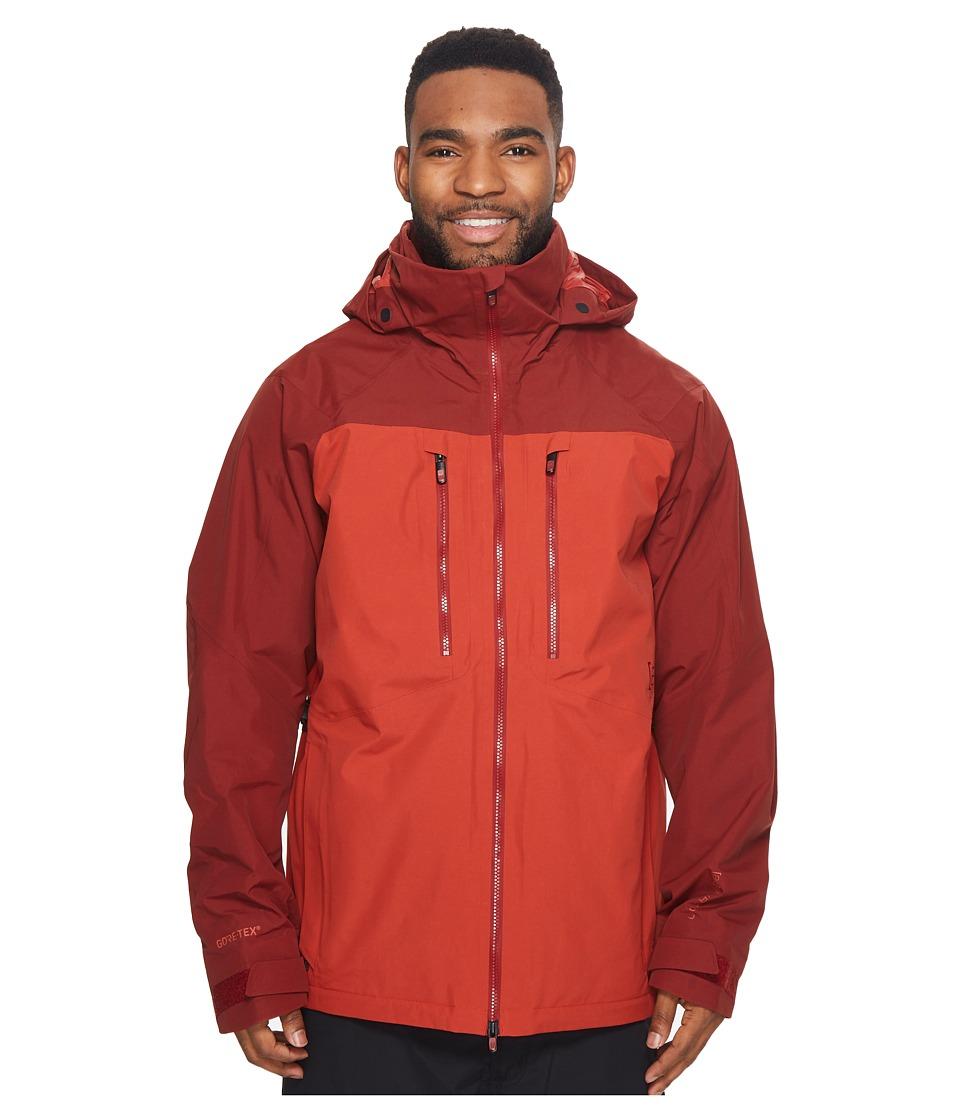 Burton ak] 2L Swash Jacket (Fired Brick/Bitters) Men's Coat