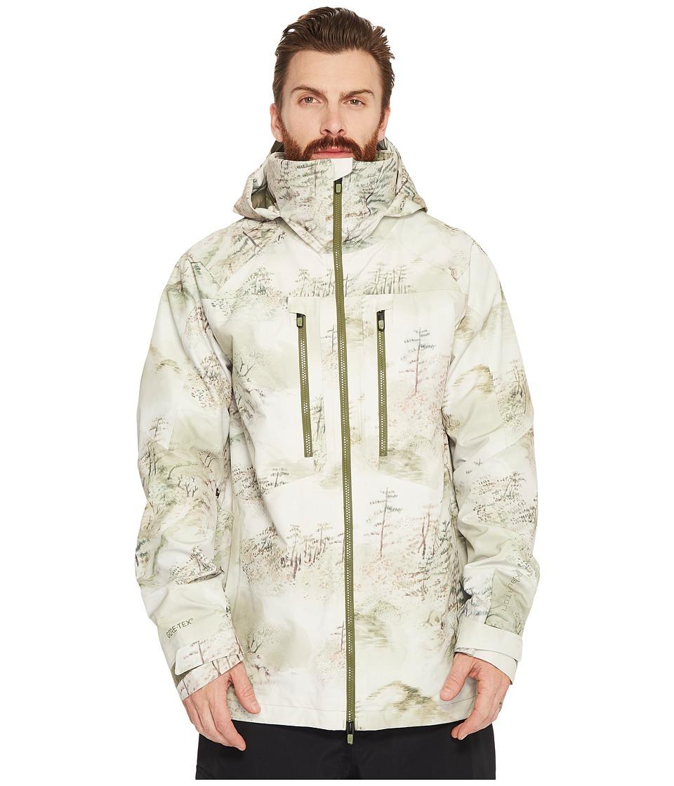 Burton ak] 2L Swash Jacket (Mori) Men's Coat