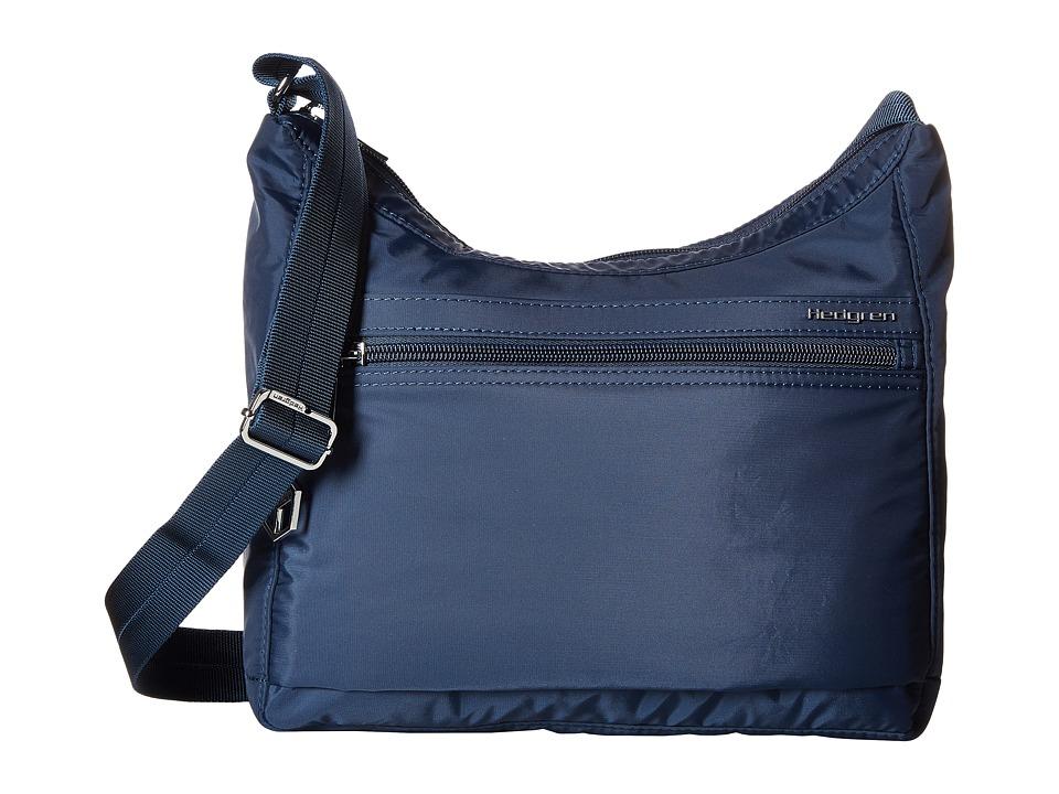 Hedgren - Inner City Harpers Small Shoulder Bag RFID (Dress Blue 1) Shoulder Handbags