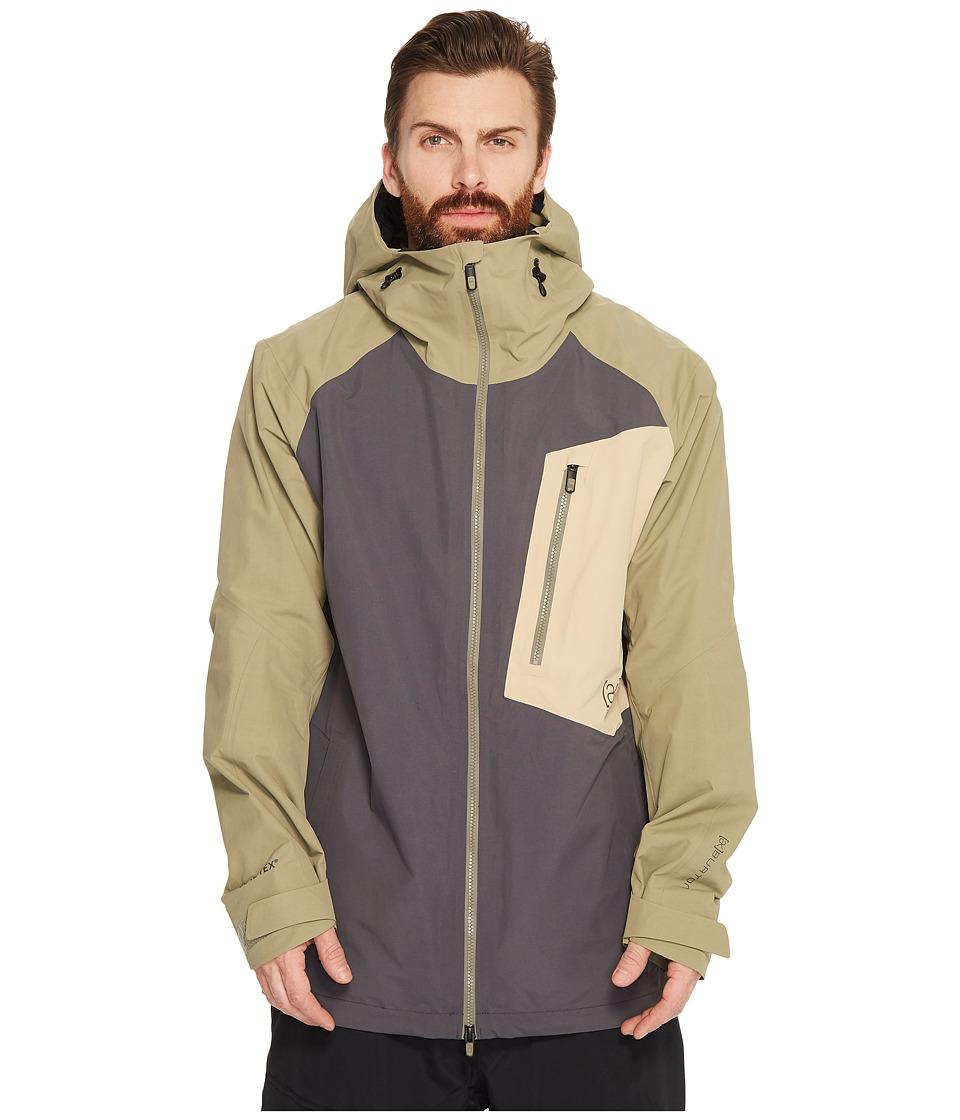 Burton ak] 2L Cyclic Jacket (Faded/Rucksack/Safari) Men's...