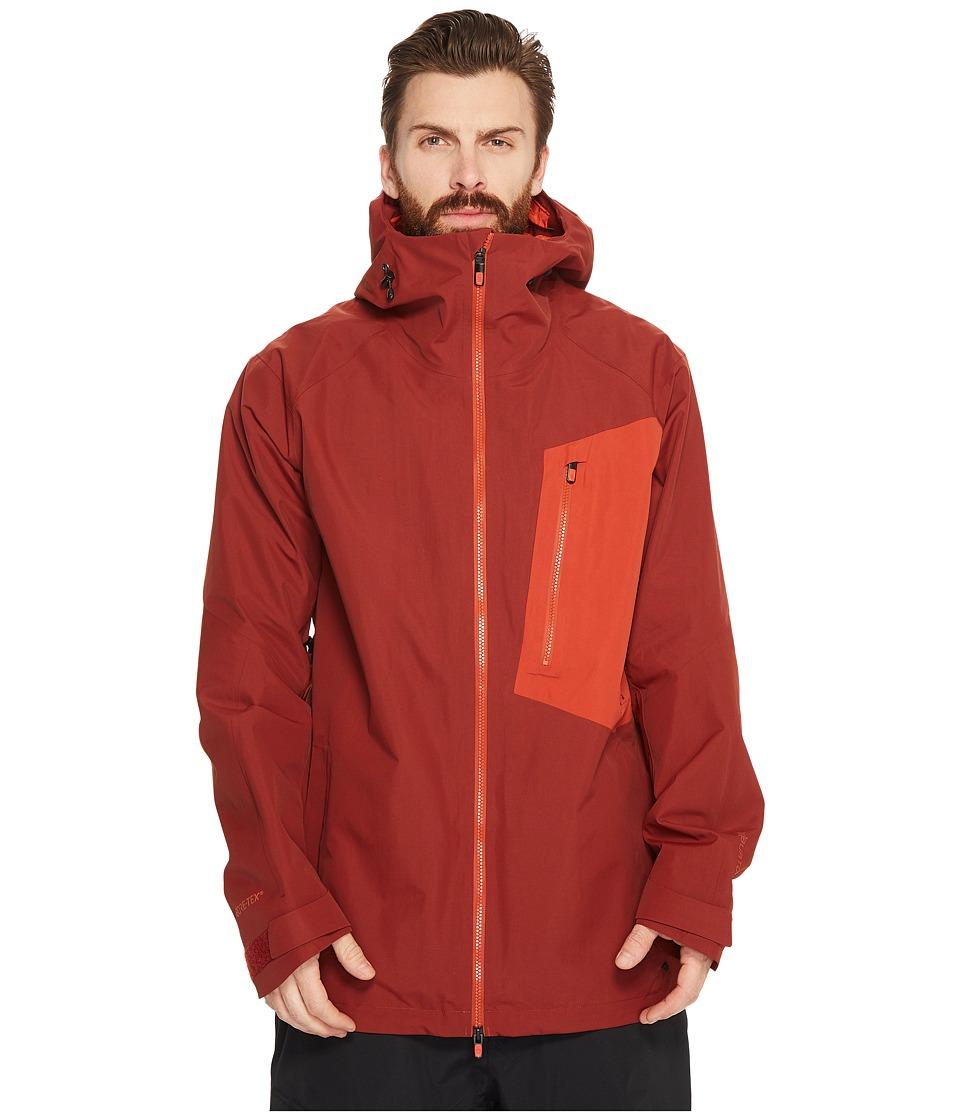 Burton ak] 2L Cyclic Jacket (Fired Brick/Bitters) Men's Coat