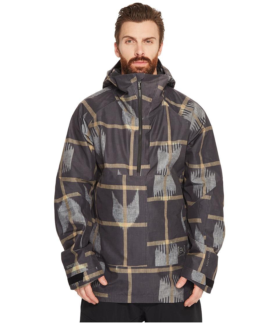Burton ak] 2L Velocity Anorak Jacket (Broken Arrow) Men's...
