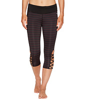 Jockey Active - Go Stripe Capris