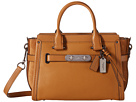 COACH - Mixed Leather Swagger 27