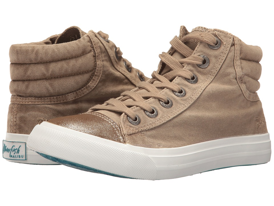 Blowfish Madras (Desert Sand Color Washed Canvas/Gold) Women