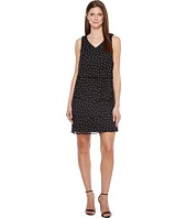 Tahari by ASL - Tiered Chiffon Dot Dress
