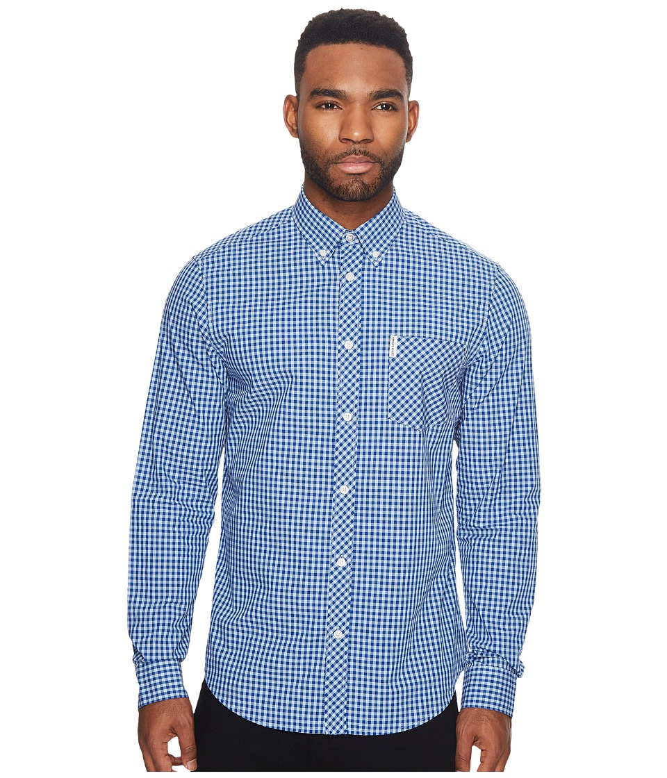 Ben Sherman - Long Sleeve Gingham Mod Shirt MA10113A