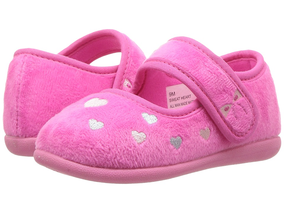 Foamtreads Kids Sweetheart FT (Toddler/Little Kid) (Fuchsia) Girls Shoes