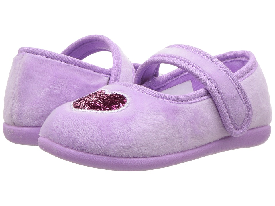 Foamtreads Kids - Heart FT (Toddler/Little Kid) (Lilliac) Girls Shoes