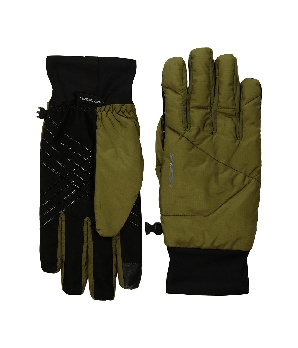 Seirus Solarsphere Ace Gloves (Olive) Extreme Cold Weather Gloves