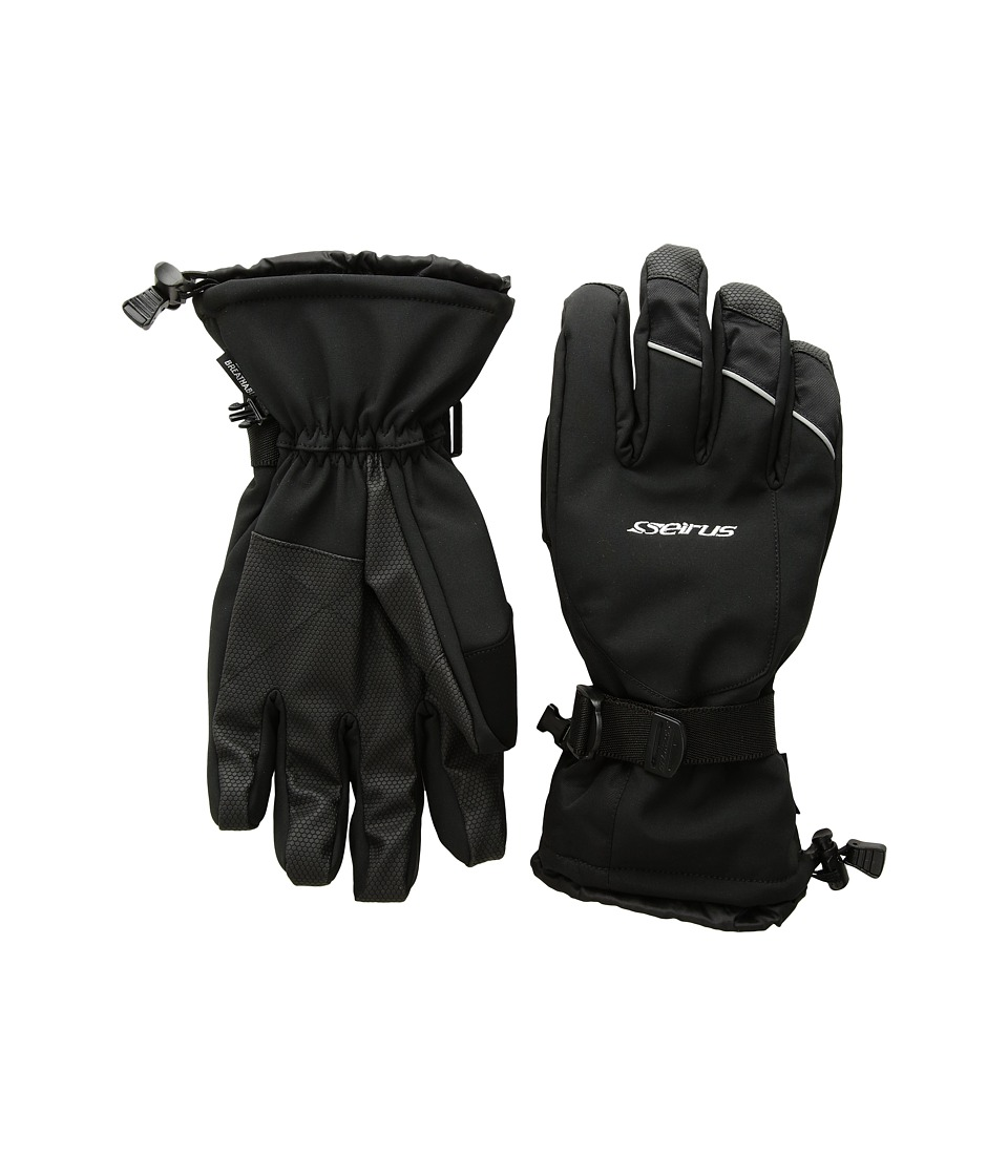 Seirus Brook Gloves (Black) Extreme Cold Weather Gloves