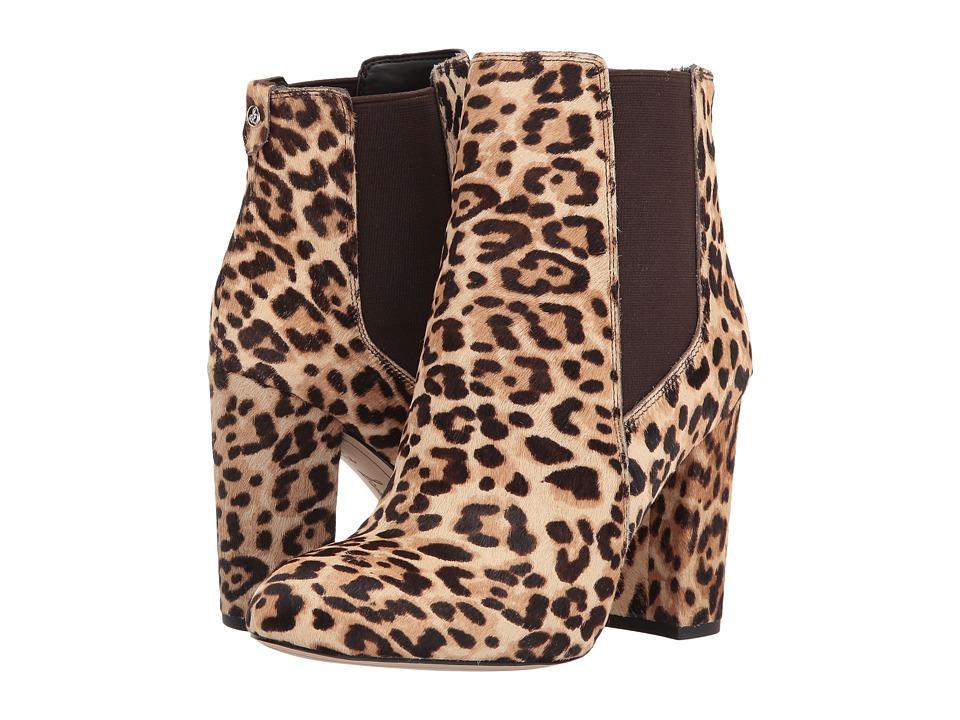 Sam Edelman Case (Sand Jungle Leopard Brahma Hair) Women