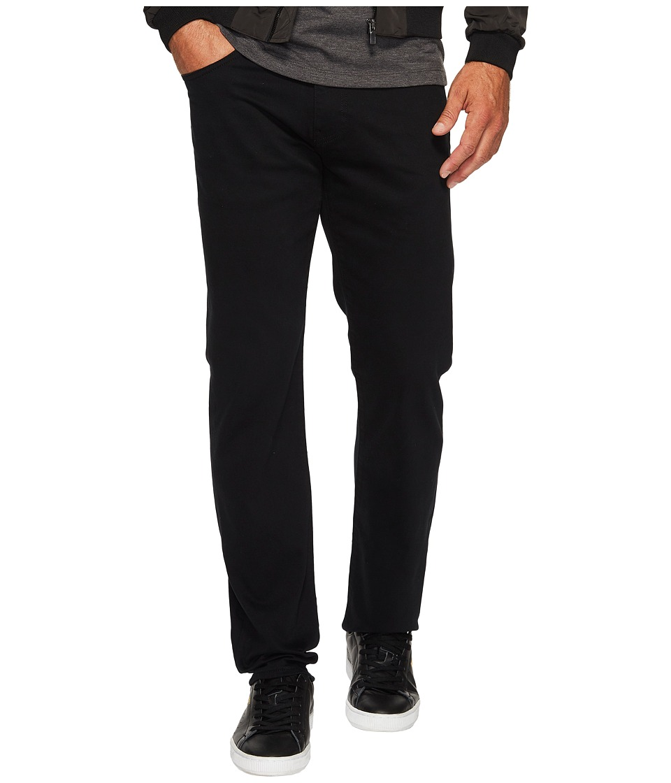 Mavi Jeans Zach Regular Rise Straight Leg in Black Williamsburg (Black Williamsburg) Men