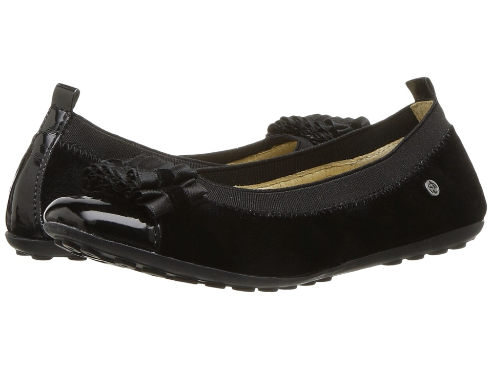 Naturino 4655 Bow AW17 (Toddler/Little Kid/Big Kid) (Black) Girl's Shoes