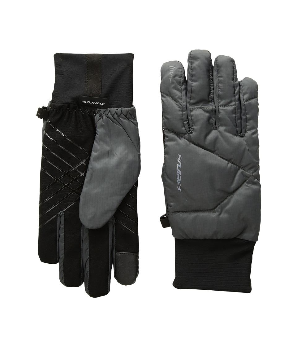 Seirus Solarsphere Ace Gloves (Charcoal) Ski Gloves